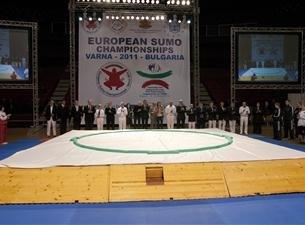 Официалното откриване на ЕП по сумо във Варна се състоя днес в ДКС.