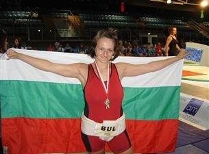 Анна Методиева шампиока от Световните игри на бойните спортове